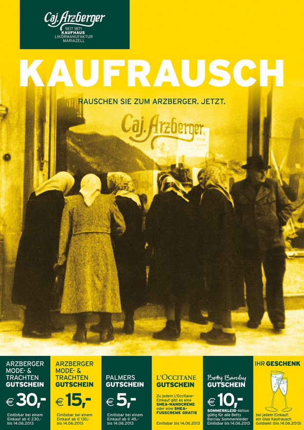 Arzberger- Kaufrauchaktion