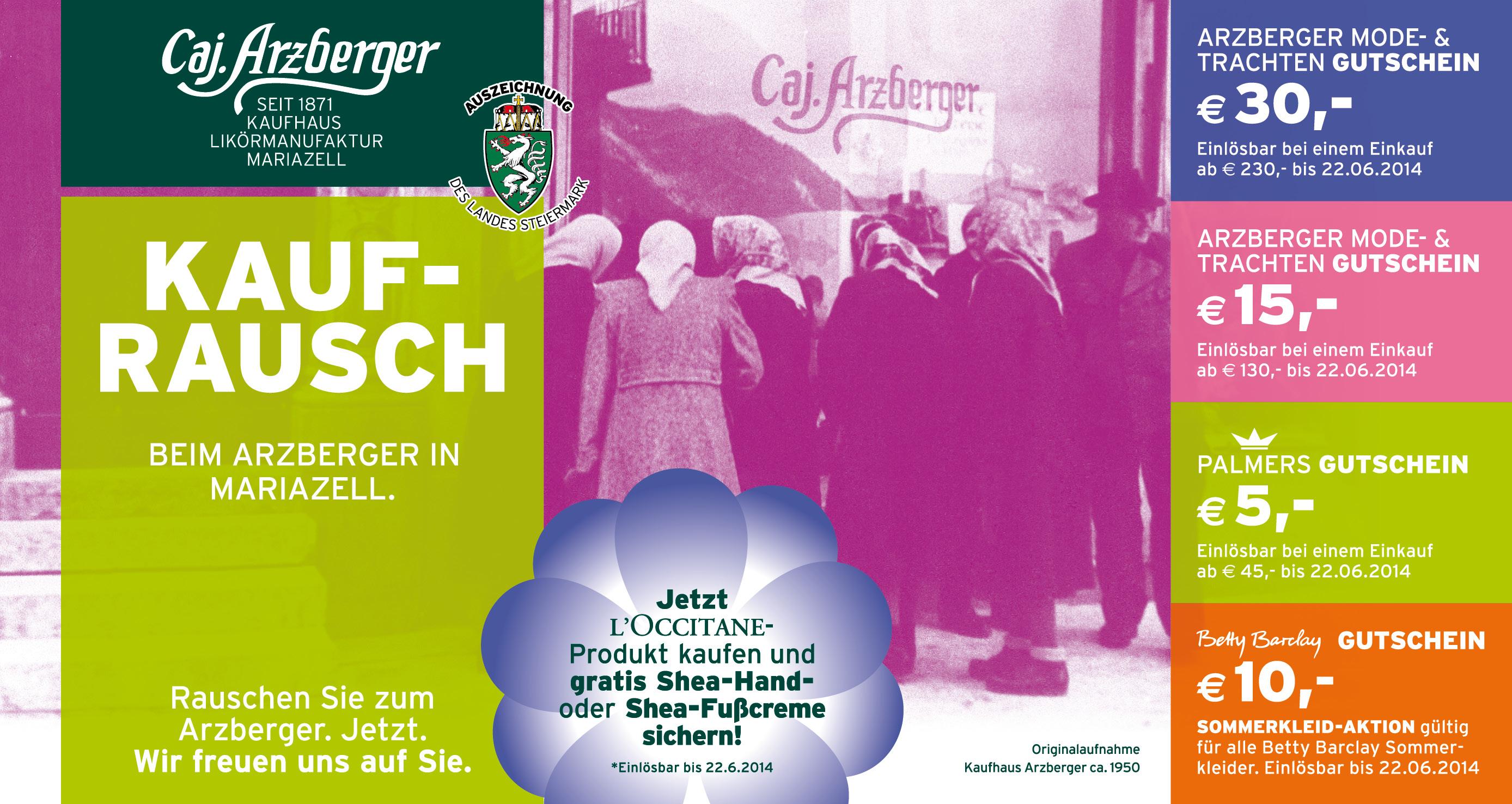 Arzberger – Mariazell - die Likörmanufaktur - das Kaufhaus